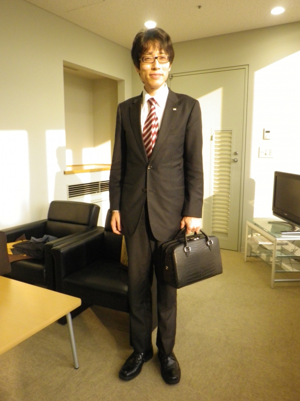 竹田恒泰さんとバッグ