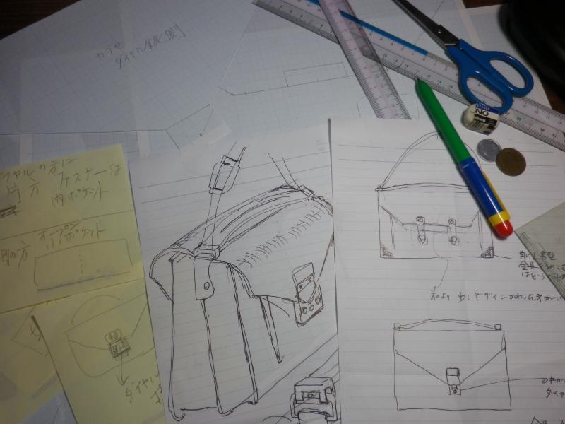 村上さんのバッグ画